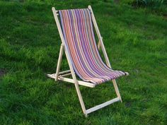 $180 Deck Chairs | Outdoor | Custom Made | Les Toiles Du Soleil