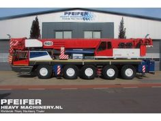 Used telescopic crane available at Pfeifer Heavy Machinery. Item Number PHM-Id 06747, Model RTT 1200, Year of construction 2003, Kilometers 82839, Hours 4408, Hours carrier 4408, Hours superstructure 8911, Loading (lifting) capacity (kg) 120000, Boom length maximum (m) 50, Fuel Diesel.