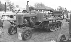 """His Super """"ATV"""" Is A Tractor Show Novelty ✖  """"I thought I'd seen just about every tractor configuration possible in the past 50 years until I saw an ad for a tractor mounted on rubber and metal snow tracks,"""" says Fred Burkhardt, a Texas farmer and tractor collector. """"I bought it from a guy east of San Antonio who used it in a hunting operation.""""Burkhardt describes his unusual gem as a Super A-ATV. """"The tractor is a Farmall Super A with a wide front end, built in 1954,"""" says Bur..."""