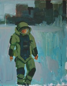 Bomb Squad - Original Art: Acrylic on Canvas $42
