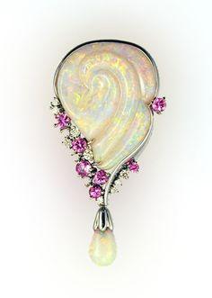 Moser Jewellery - Opal Pendants