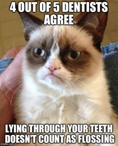 No it doesn't.....Brevard Pediatric Dental Associates | #MerrittIsland | #FL | http://www.brevardpediatricdental.com/
