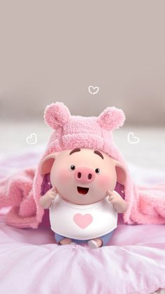 70 Ideas For Anime Art Cute Baby Animals - Best of Wallpapers for Andriod and ios Pig Wallpaper, Disney Wallpaper, Iphone Wallpaper, This Little Piggy, Little Pigs, Cute Piglets, Pig Illustration, Pig Art, Baby Pigs