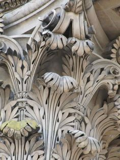 Artisans from the past: lacy leaves in stone