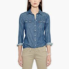 Relaxed Sawtooth Western Shirt
