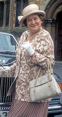 So grand: Patricia Routledge in Keeping Up Appearances in the 1990s...