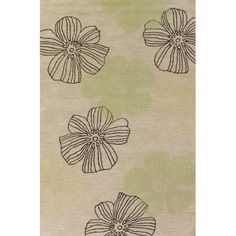 I pinned this Mantra Summer Rug in Ivory from the Oak Orchard Studios event at Joss and Main!