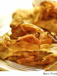 Buckwheat Crepes with Sauteed Apples by Marie Simmons