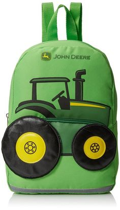 John Deere Toddler Boys Tractor Backpack, Lime Green, One Size Toddler Bag, Toddler Backpack, Toddler Gifts, Mini Backpack, Gifts For Kids, Swag Style, Baby Boy Baseball, Cowboy Baby, Style Hipster