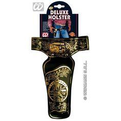 Cowboyholster Deluxe XL bij De Feestwinkel