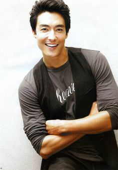 Daniel Henney...probably one of the very very few asian celebrities I'll be attracted to! :P