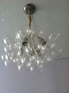 #DIY Bubble Chandelier