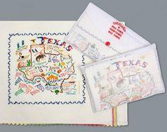 Texas Geo Dish Towel
