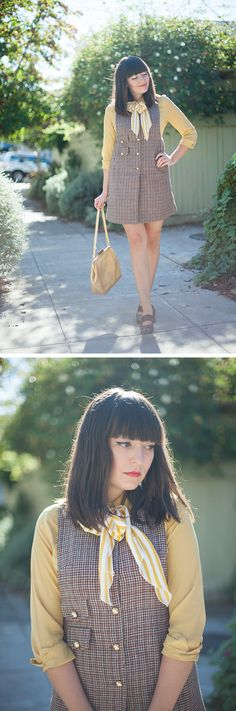 my latest outfit post, up at calivintage.com!