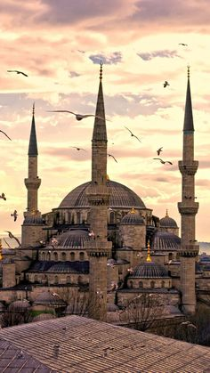 Insider Istanbul Itinerary , Insider Istanbul Itinerary The Blue Mosque in Istanbul, Turkey. The Blue Mosque in Istanbul, Turkey. Architecture Byzantine, Islamic Architecture, Visit Istanbul, Istanbul Travel, Palacio Imperial, Sainte Sophie, Sultan Ahmed Mosque, Blue Mosque Istanbul, Visit Turkey