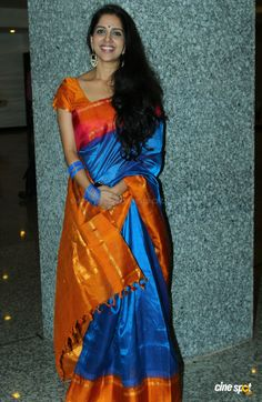 aparna nair saree - Google Search