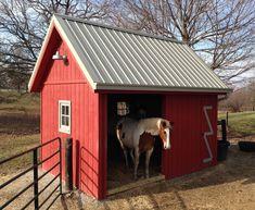 Mini Horse Barn, Small Horse Barns, Tiny Horses, Miniature Horse Barn, Mini Barn, Horse Shed, Horse Barn Plans, Horse Stalls, Horse Paddock