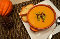 Creamed Spicy Pumpkin Soup