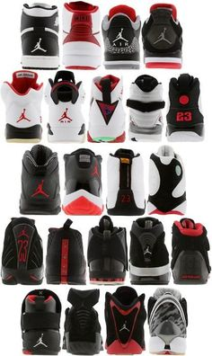 1's -22's . Omg I had half of thesee, but I hate every jordan after the 14's lmaoo .