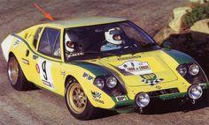 Tour de Corse 1972 Ragnotti Jean - Jaubert Jacques  Ligier JS2 ( ritirato per rottura sospensione)