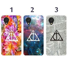 Sony Xperia Z1, Xperia Z, Z1s, Z2, Z1 compact case - deathly hallows harry potter case cover (L15)