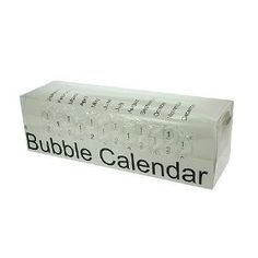 Amazon.com: 2012 Bubble Calendar a Poster Sized Calendar with a Bubble to Pop Everyday!: Everything Else