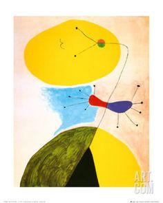 Art.fr - Reproduction artistiques 'Portrait' par Joan Miró