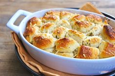 parmesan, herb, & garlic pull-apart bread