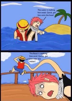 What would happen if Fairy Tail met One Piece...
