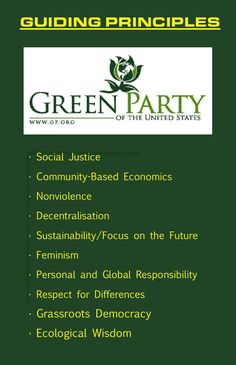 I Love the Green Party values, especially more now that the Democratic Party has reaffirmed its corrupt values and stagnating platform. Green Party Usa, Green Politics, Liberal Democrats, Socialism, Progressive Liberal, Jill Stein, Political Party, Political Logos, Political Views