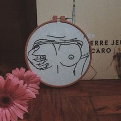 embroidery - clube do bordado - porn - breasts - bust - orgasm - draw - illustration - brazil - by Vanessa Israel