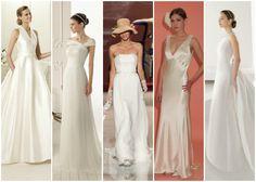 Hoje a redacção Zankyou propõe alguns vestidos de noiva das colecções 2013 perfeitos para as noivas adeptas do glamour e da eterna elegância da simplicidade.