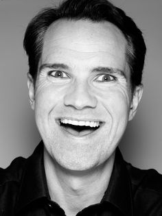 Jimmy Carr - love him but this photo creeps me out.