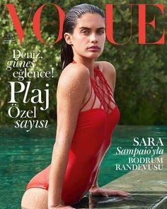 Sara Sampaio on Vogue Turkey, June 2017, by Liz Collins