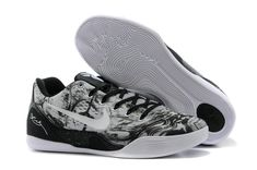 Kobe 9 EM Low Wolf Grey White Black Men Sneakers 7edff8819d