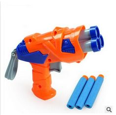 Nueva llegada de la alta calidad pistola Nerf nuevo modelo de juguete exterior suave de aire Nerf barato juguetes para niños pistola y compras libres #44