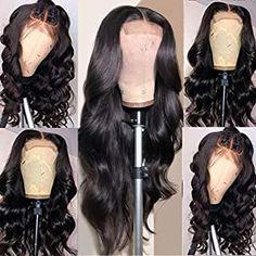 100 Human Hair, Human Hair Wigs, All Hairstyles, Beautiful Hairstyles, Curly Hair Styles, Natural Hair Styles, Medium Brown Hair, Body Wave Wig, Hair Extensions Best