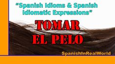 """Learn Spanish. What does """"Tomar el pelo"""" mean? If you want to know it, watch this video. Aprende español. ¿Sabes que significa la expresión """"Tomar el pelo""""? ..."""