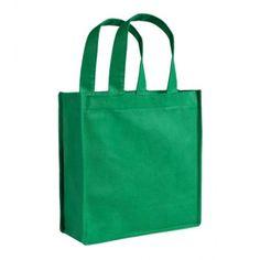 59b9fe8f9e Shopper con soffietto TNT f.to 23 x 25 x 10 cm manici corti personalizzata