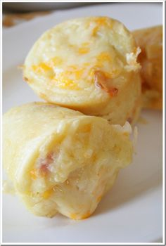 Sausage and Cheesy Hashbrown Popovers  | Doughmesstic