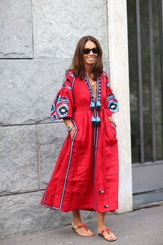 How The Kaftan Conquered The City