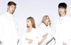 "K.A.R.D's ""Don't Recall"" promotional picture."