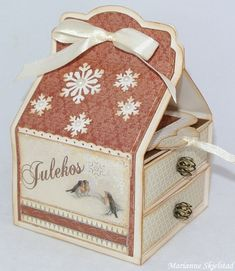 A christmas box featuring the Silent Night collection