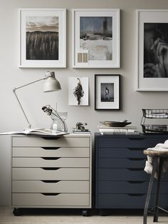 So make sure you design your home office exactly how you want from the perfect colors. See more ideas about Desk, Home office decor and Home Office Ideas. Office Furniture Design, Office Interior Design, Office Interiors, Home Office Space, Home Office Decor, Office Spaces, Office Ideas, Estilo Hampton, Ikea Workspace