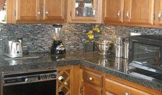 Custom Installed Granite Tile Counter From Easy Granite Tile