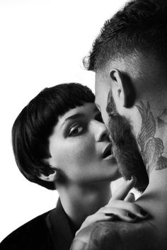 Billy Huxley neck tattoo. Shot by Jonny Seymour