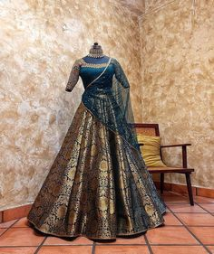 Indian Wedding Gowns, Indian Gowns Dresses, Indian Bridal Outfits, Indian Fashion Dresses, Indian Designer Outfits, Indian Weddings, Wedding Lehenga Designs, Latest Lehnga Designs, Best Lehenga Designs