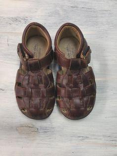 Stride Rite Brown Sandals- size 7