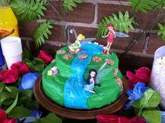 Cake at a Fairy Party #fairy #partycake