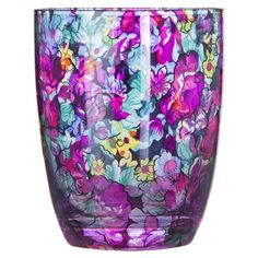 Bring a touch of whimsy to your next soiree with this elegant glass, showcasing a lovely floral motif.    Product: Glass